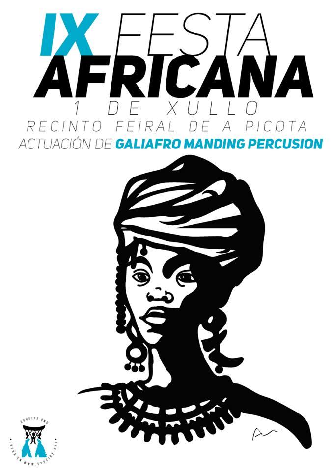 Cartel IX Fiesta Africana Égueire