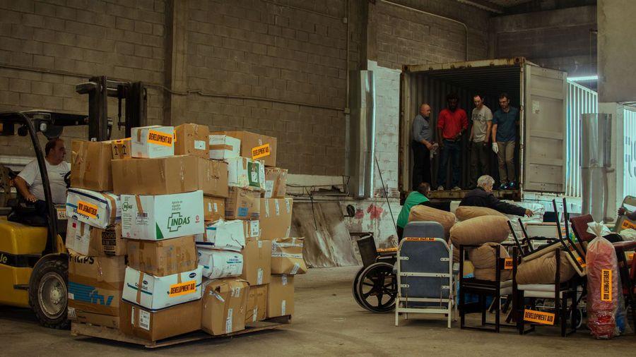 Égueire envía material sanitario a la Maternidad de Nandibou