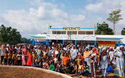 Egueire y Costa de Marfil unidos por el corazón