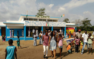 Inauguración de la Maternidad de Nandibou