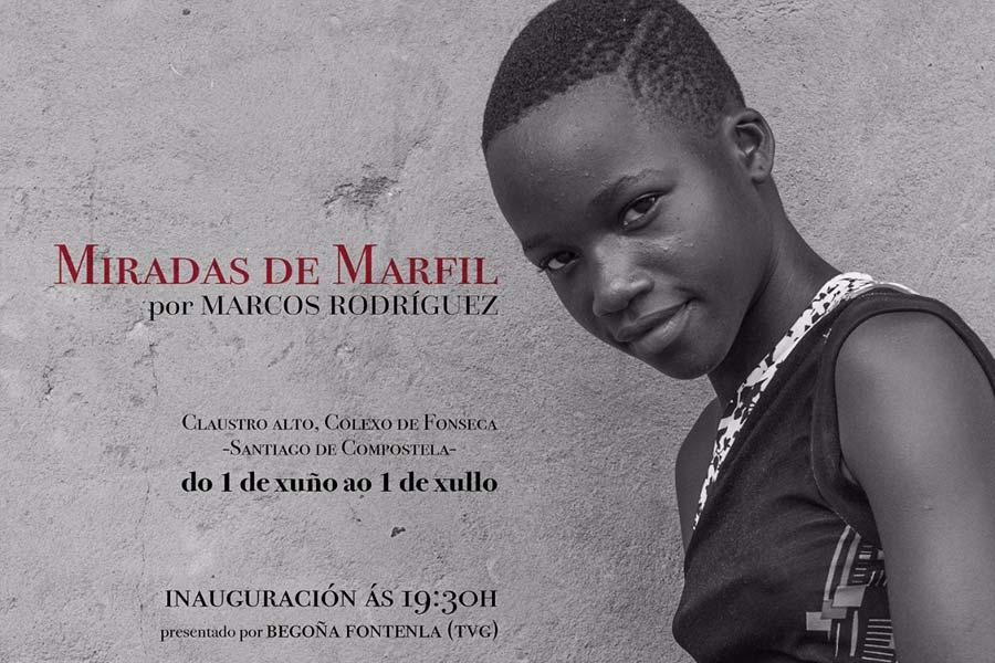 """Exposición de fotos """"Miradas de Marfil"""" realizadas por el fotógrafo Marcos Rodríguez"""