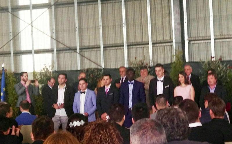 Graduación alumnos centro de promoción rural EFA FONTEBOA