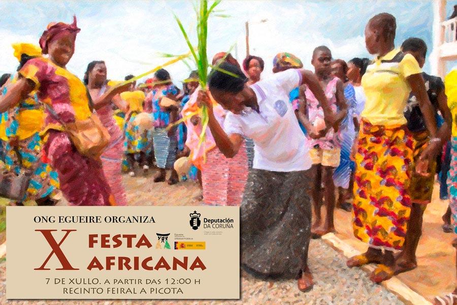 Fiesta Africana X Aniversario de Égueire