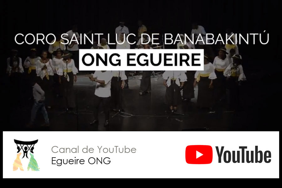 Actuaciones del Coro Saint Luc de Banabakintú en nuestro Canal de youtube