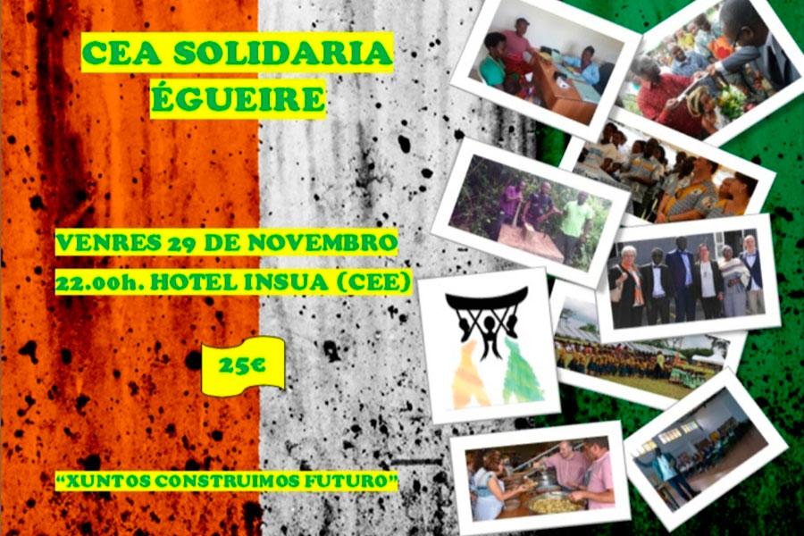 Cena solidaria Egueire 2019