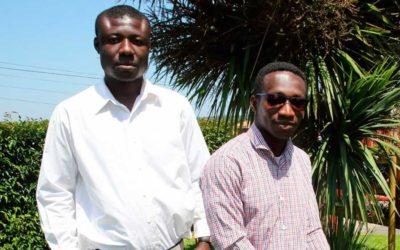 Egueire forma a 2 jóvenes de Costa de Marfil para su proyecto agropecuario