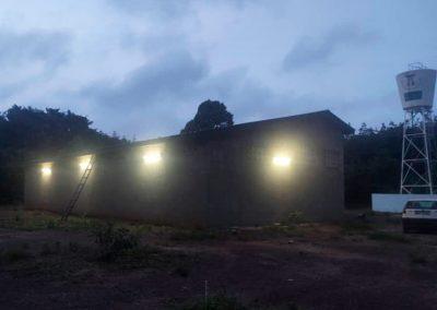 Instalación placas solares Egueire